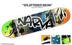 Splattered Neon