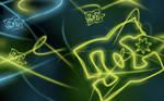 DC Neon Background