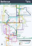 Bellevue Bus Routes Map