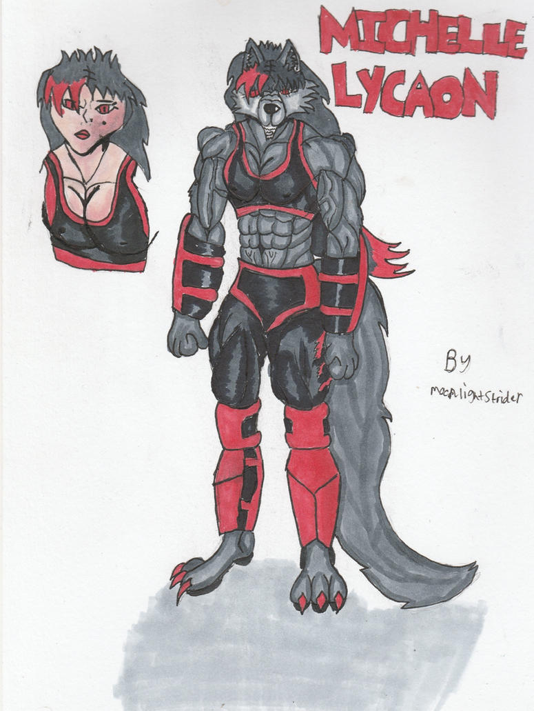 'The Wolf Maiden' Michelle Lycaon by MoonlightStrider