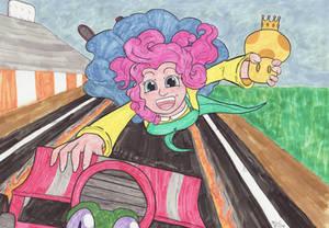 Doubly-Dashing Pinkie Pie