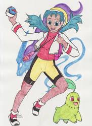 Pokemon Trainer Kris