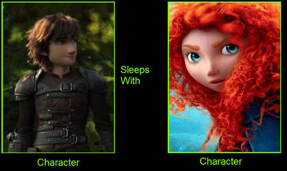 What if Hiccup Sleeps with Merida by Anarchrist17