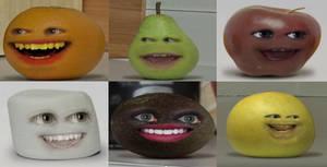 Annoying Orange Characters