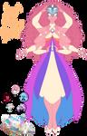 Steven Universe temple fusion: Angel Aura Quartz