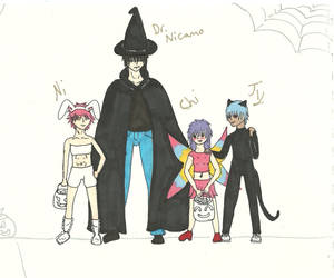 Trick or Treat by shadow---cat