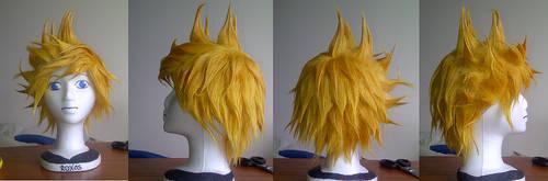 Roxas wig by shadow---cat