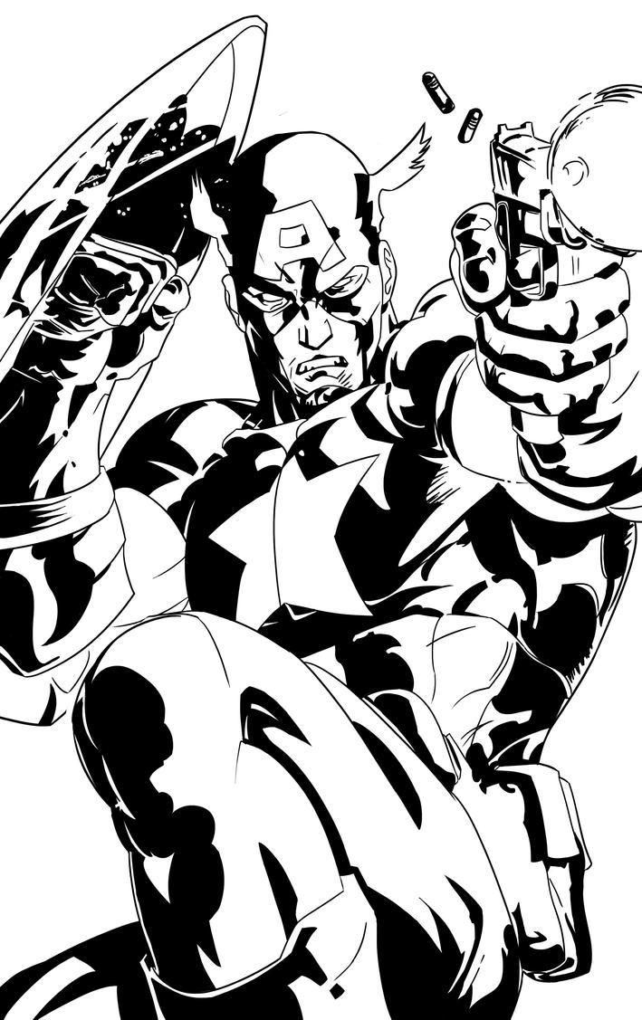Captain America By PhillieCheesie On DeviantArt