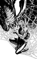 Venom Spider-man by PhillieCheesie