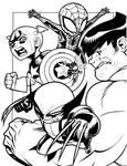 Chibi Avengers Assemble