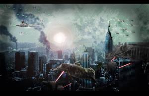 Battle in NYC by PhillieCheesie