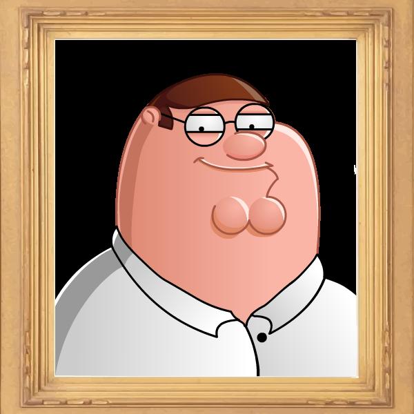 Peter Griffin 2.5D by PhillieCheesie on deviantART