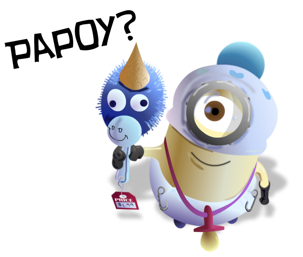 Despicable Me Minions Saying Papoy Papoy by PhillieCheesie