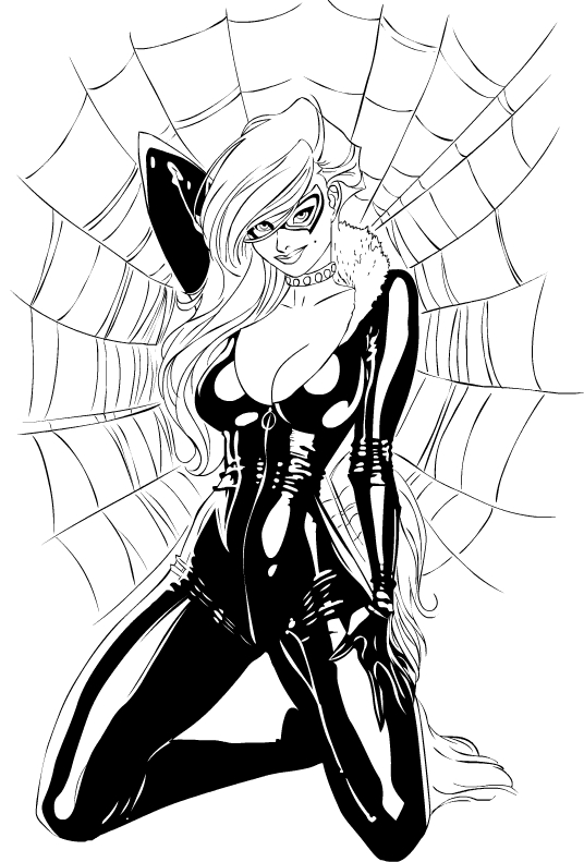 Blackcat by PhillieCheesie