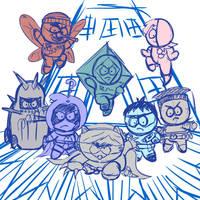 Coon and Friends sketch by PhillieCheesie