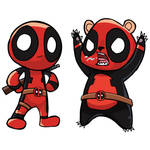 Chibipool and Chibi Pandapool sketch