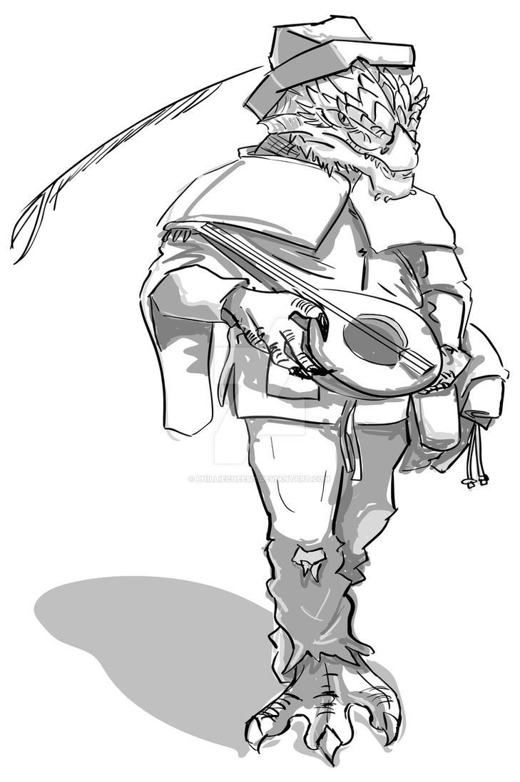 Bardies sketch by PhillieCheesie