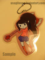 Marceline Keychain by UsagiLovex