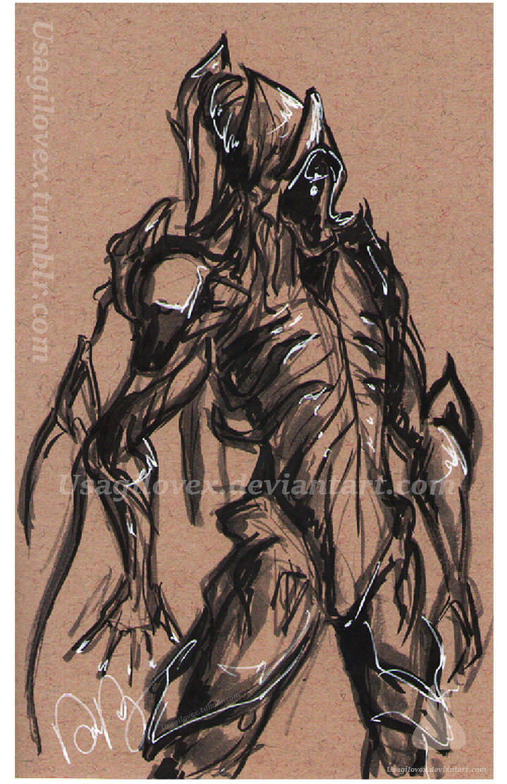 Nekros - Ink by UsagiLovex