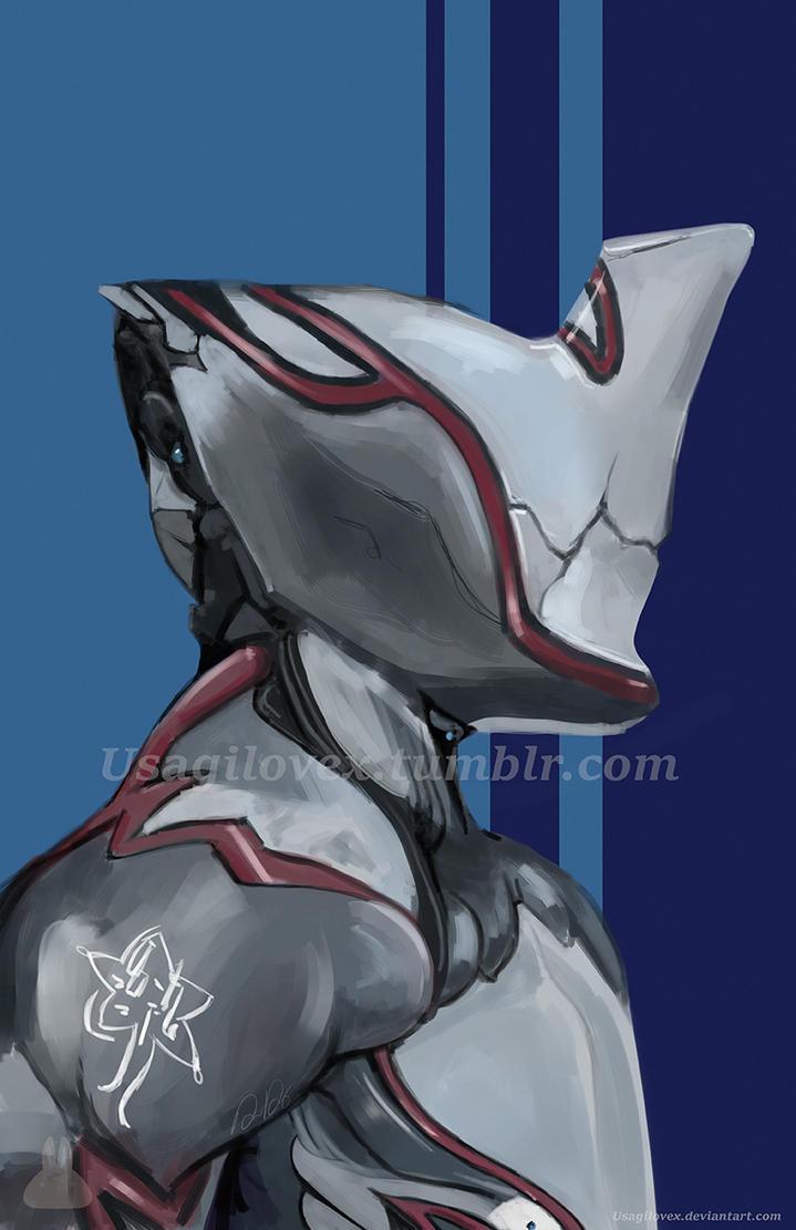 Warframe Excalibur Portrait by UsagiLovex