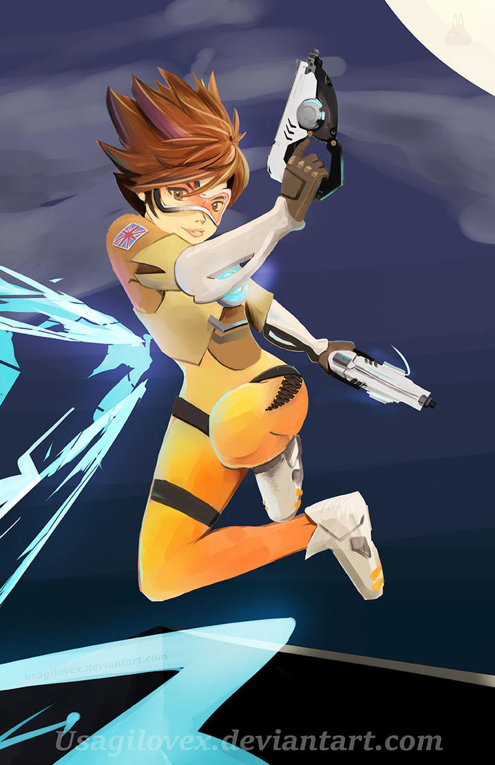 Tracer- Hiii by UsagiLovex
