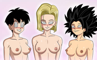 Dragon Ball Trio by PolManning