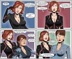Black Widow/Maria Hill