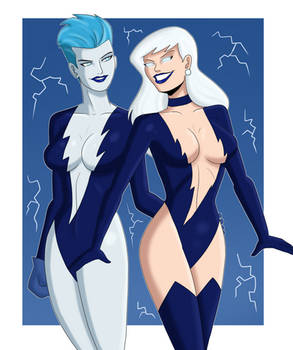 Livewire and Lois Lane