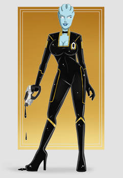Liara T'Soni, Agent of Cerberus