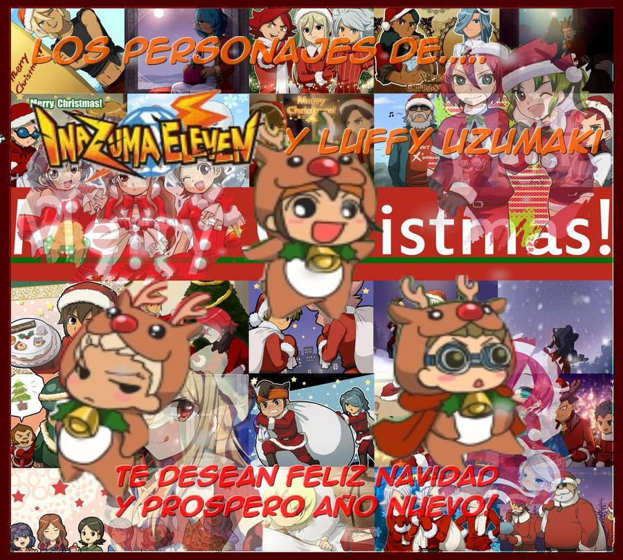 Merry Xmas with Inazuma Eleven by LuffyUzumaki