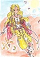 : Amaterasu : by Kayra-Wolfy