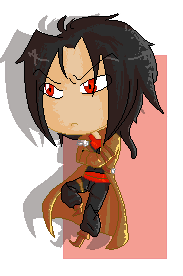 5/7 days pixel art Challenge - Laon by Kayra-Wolfy