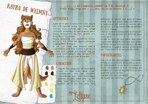 Reference : Kayra de Welmny