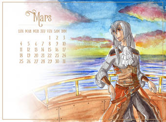 Mars - Elan by Kayra-Wolfy