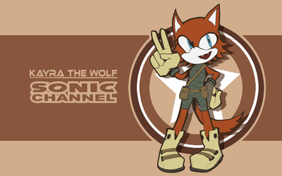 Sonic channel Kayra by Kayra-Wolfy