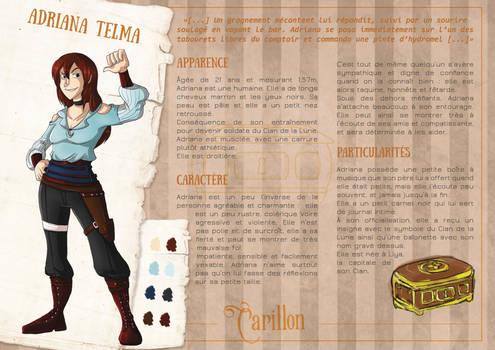 Reference : Adriana Telma