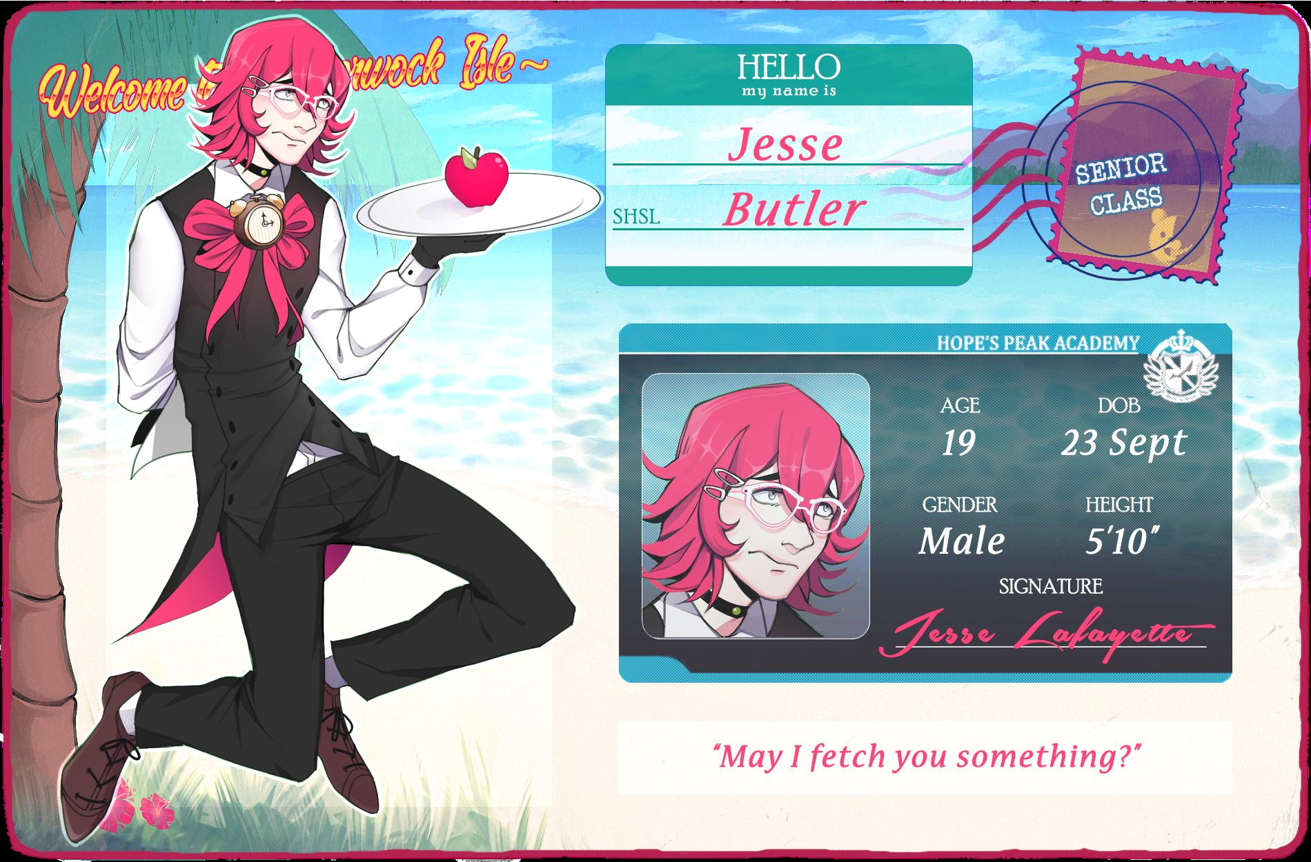 JI: MY MANS JESSE