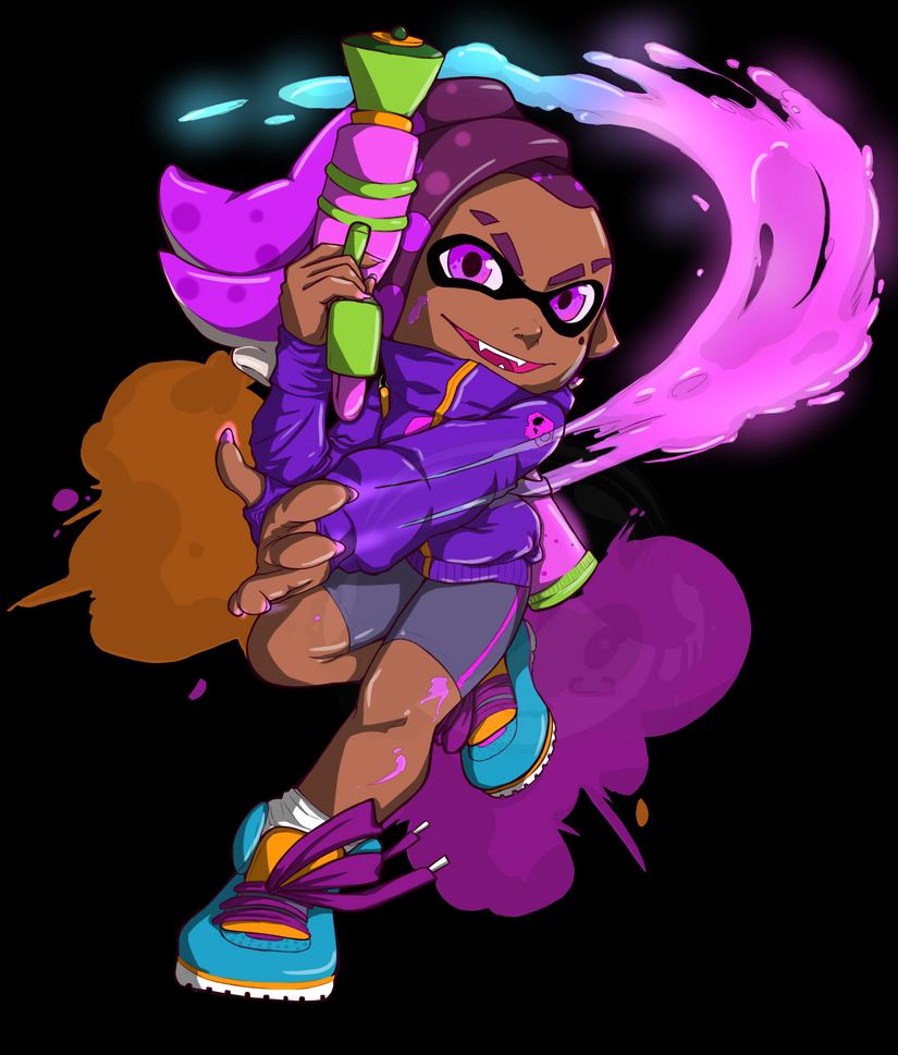 Sombra Inkling by zoven