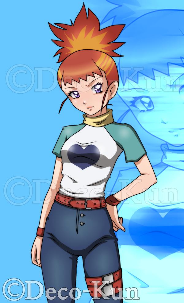 Makino Ruki by Deco-kun
