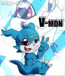 V Is For V-mon!