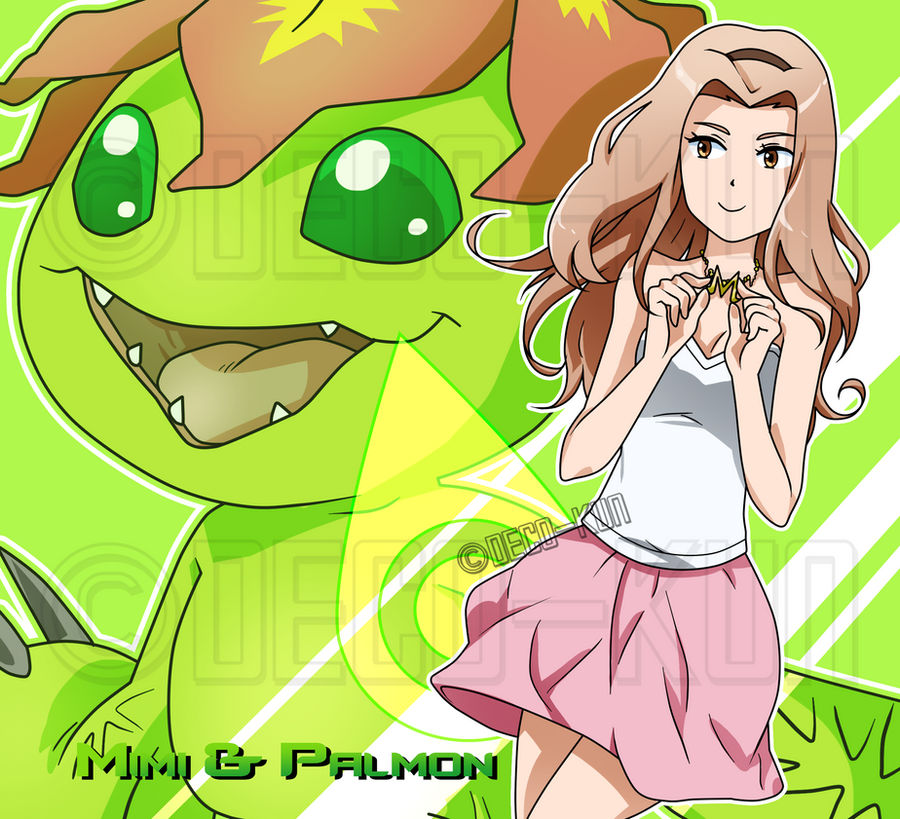 tri.: Mimi and Palmon