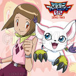 Best Partners - Hikari and Tailmon