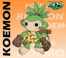 Digimon Parallel - Koemon by Deko-kun