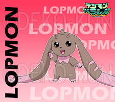 Digimon Parallel - Lopmon by Deko-kun