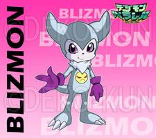 Digimon Parallel - Blizmon by Deko-kun