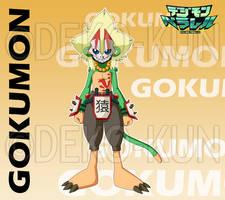 Digimon Parallel - Gokumon by Deko-kun