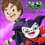 Digimon Parallel-Best Partner - Makoto and Impmon