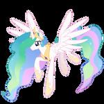 Flying Celestia