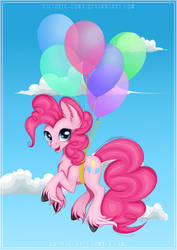 Pink (flying) Pony by Victoria-Luna