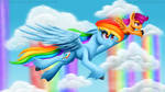 Rainbow Falls by Victoria-Luna